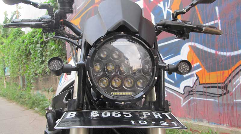 Headlamp adopsi Honda Scoopy
