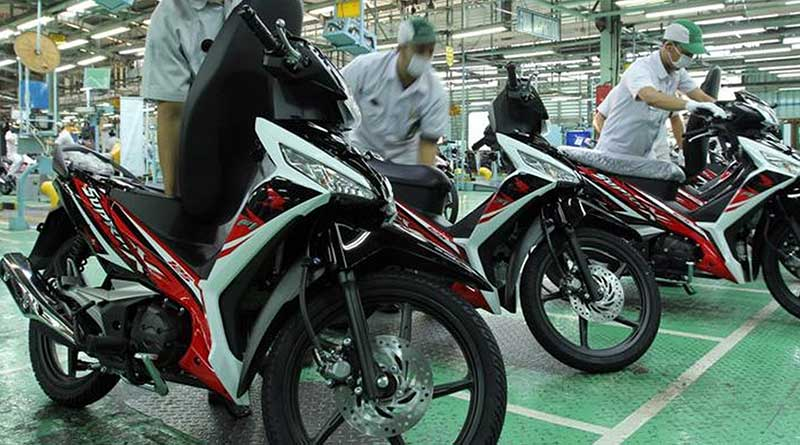 Honda Supra X Stripping Baru