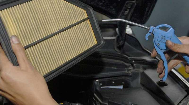 cek filter udara