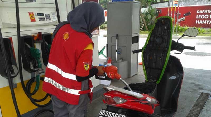 Pakai BBM yang sesuai dapat mencegah motor matic cepat panas