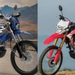 crf vs klx 150