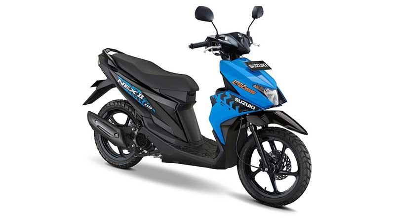 Suzuki Nex II Biru