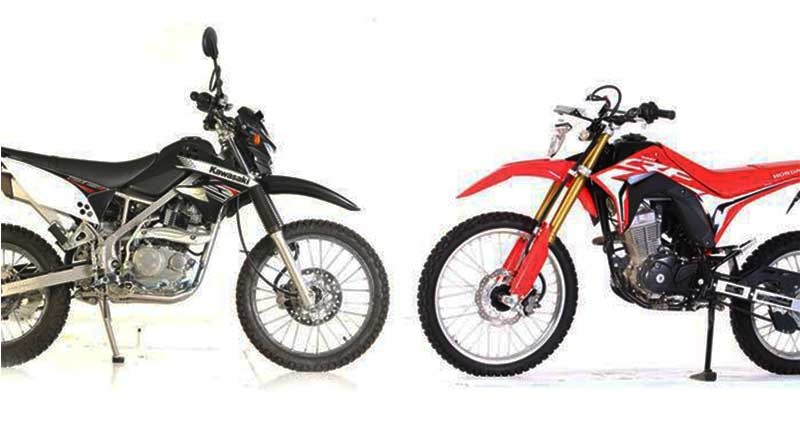CRF VS KLX