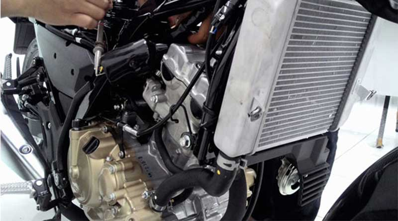 Mesin Yamaha YZF R15