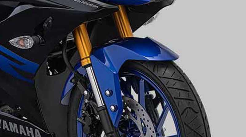 Suspensi dan pengereman Yamaha YZF R15