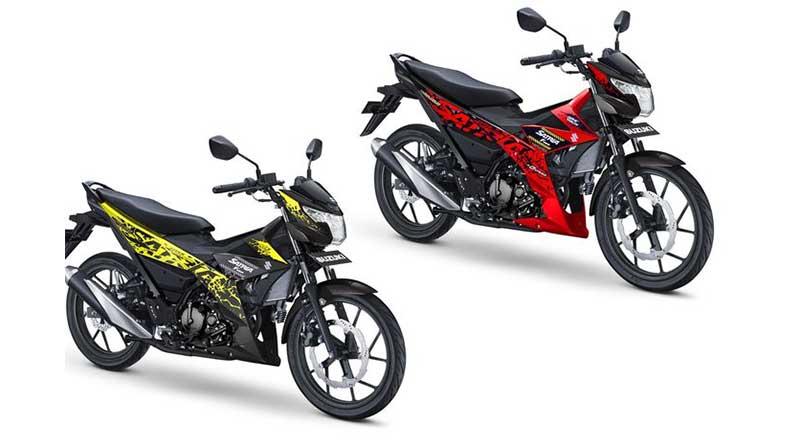 Pilihan Warna Suzuki Satria F150