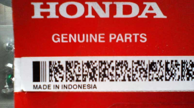 Suku Cadang Honda Genuine Parts