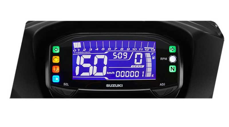panel instrumen digital gsx-150 bandit