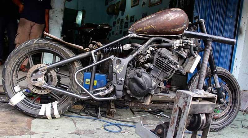Bengkel Modifikasi, Kerangka Motor
