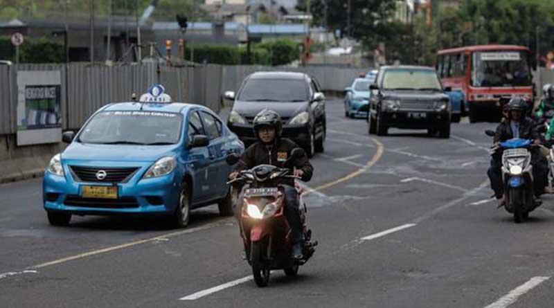 Jaket Motor Harian Melindungi tubuh dari polusi jalanan