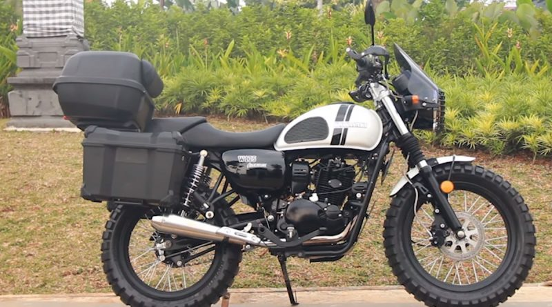 Modifikasi W175 Cafe Racer