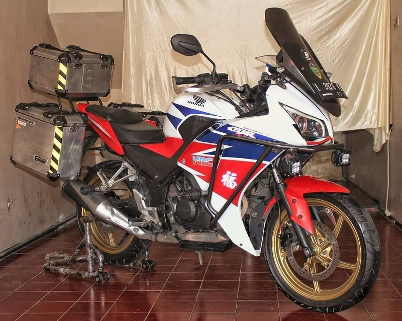 Modifikasi Honda CBR 150 adventure
