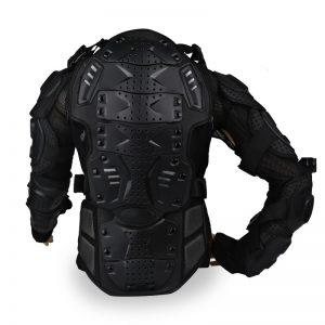 jaket dengan pelindung dada