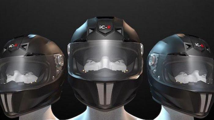 Pilih Helm Dengan Visor Putih