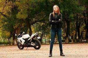 Jaket Motor Wanita