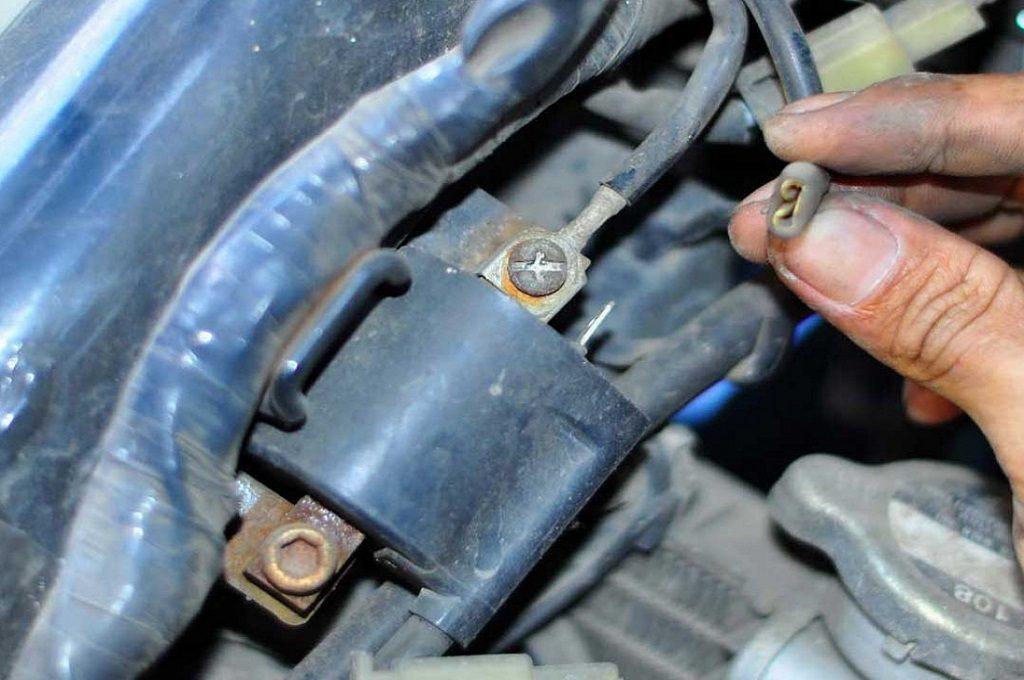 Koil Motor Di Pasang