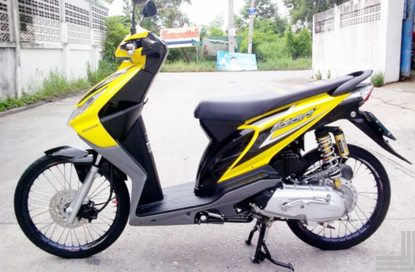 modifikasi motor beat karbu
