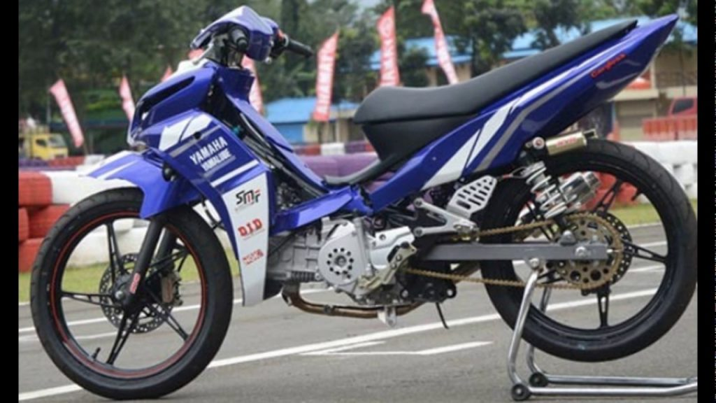 Modifikasi Jupiter Z ala Road Race