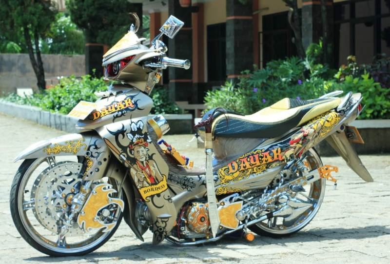 Modifikasi Jupiter Z Ceper
