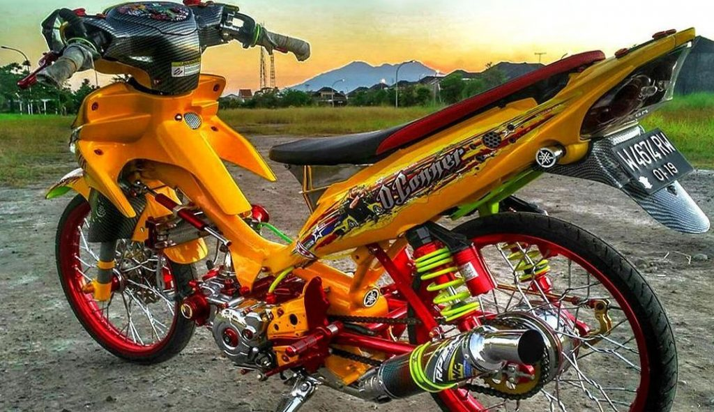 Modifikasi Jupiter Z Thailook