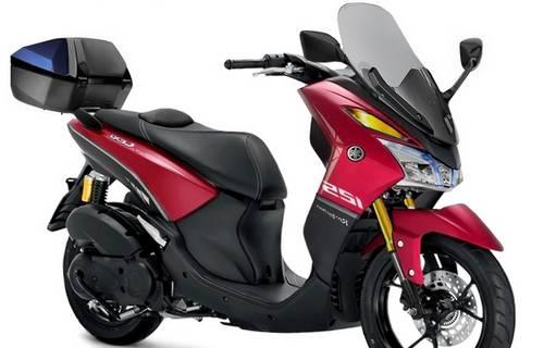 Modifikasi-Yamaha-Lexi-Merah