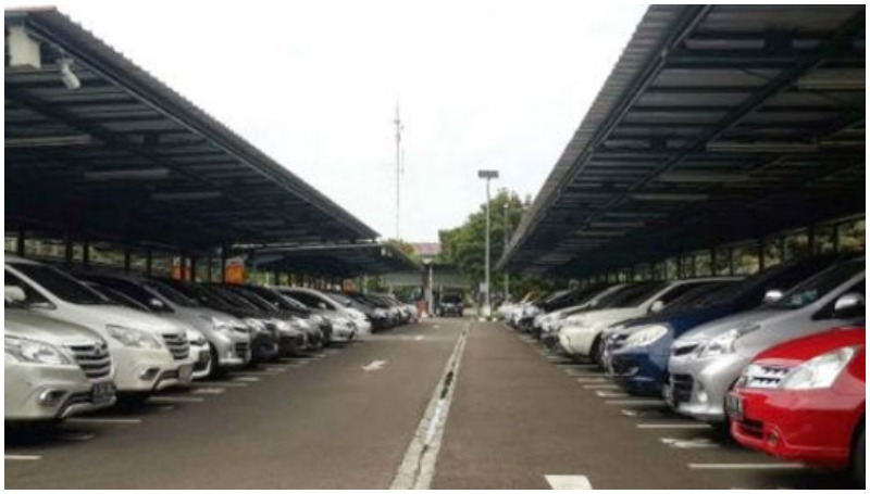 lokasi parkir inap bandara Soekarno Hatta