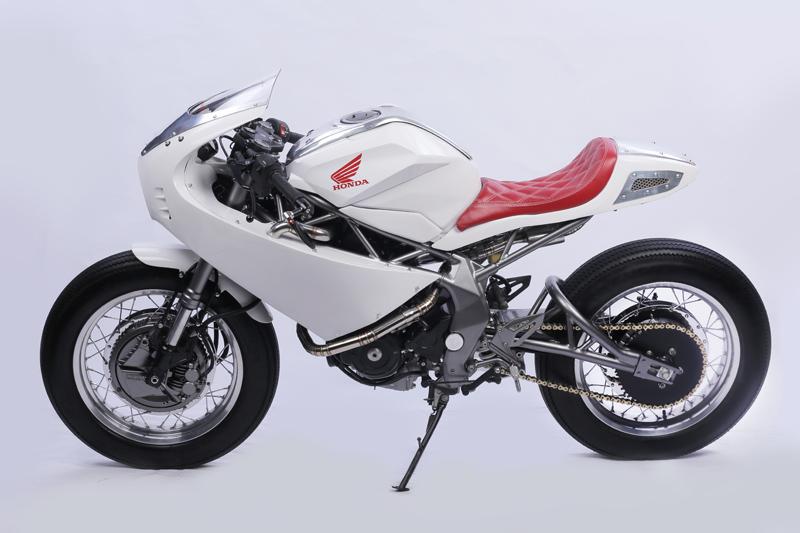 Honda CB250RR modif neo cafe racer oleh Yuwono Jati dari Lunatic Inc