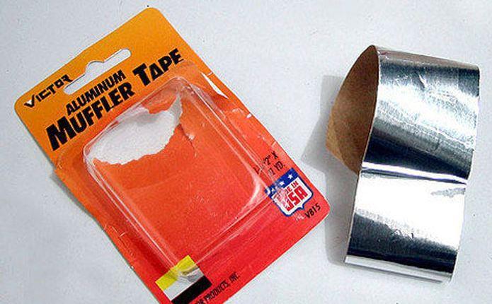 Cara Menambal Knalpot Bocor Alumanium Muffler Tape