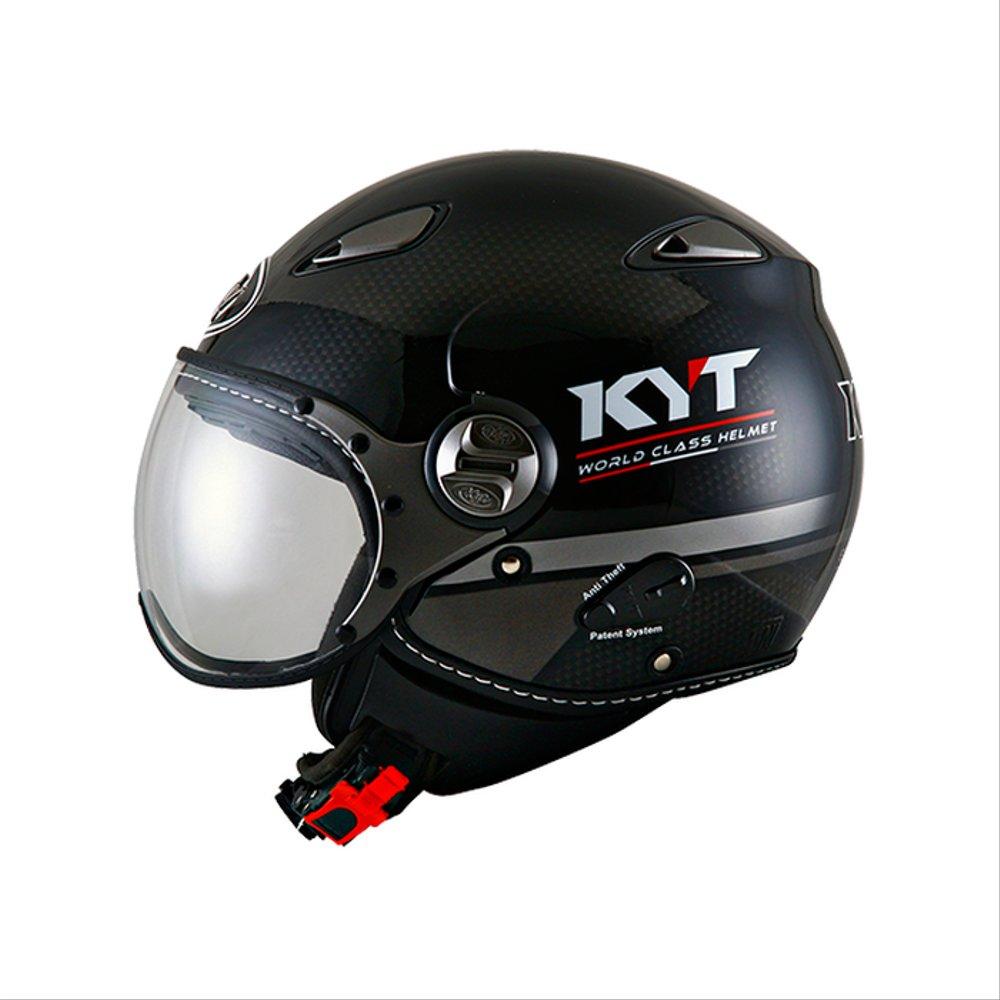 Helm KYT Half Face Retro