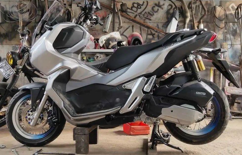 Modifikasi Honda ADV 150