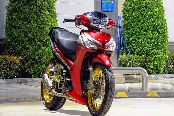 Modifikasi Honda Supra X-125