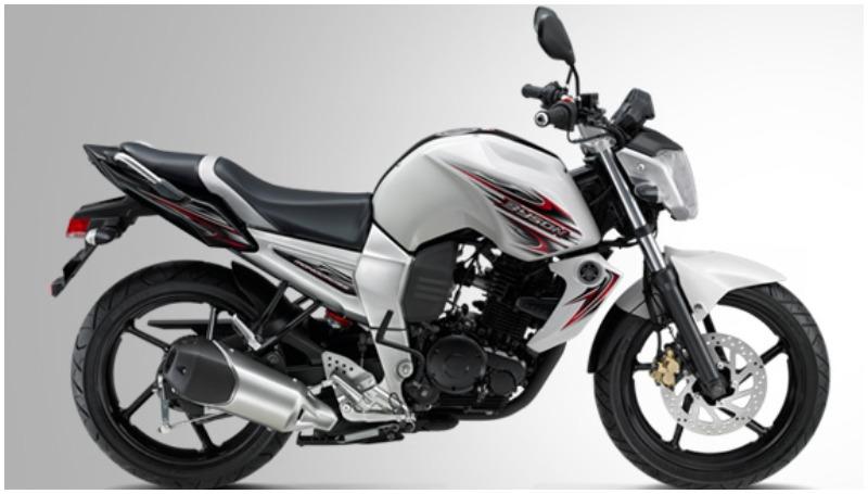 Yamaha Byson generasi pertama yang dipasarkan di Indonesia