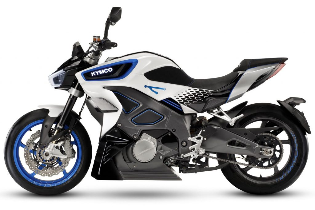 2021 Kymco Revonex first look electric sport motorcycle 7