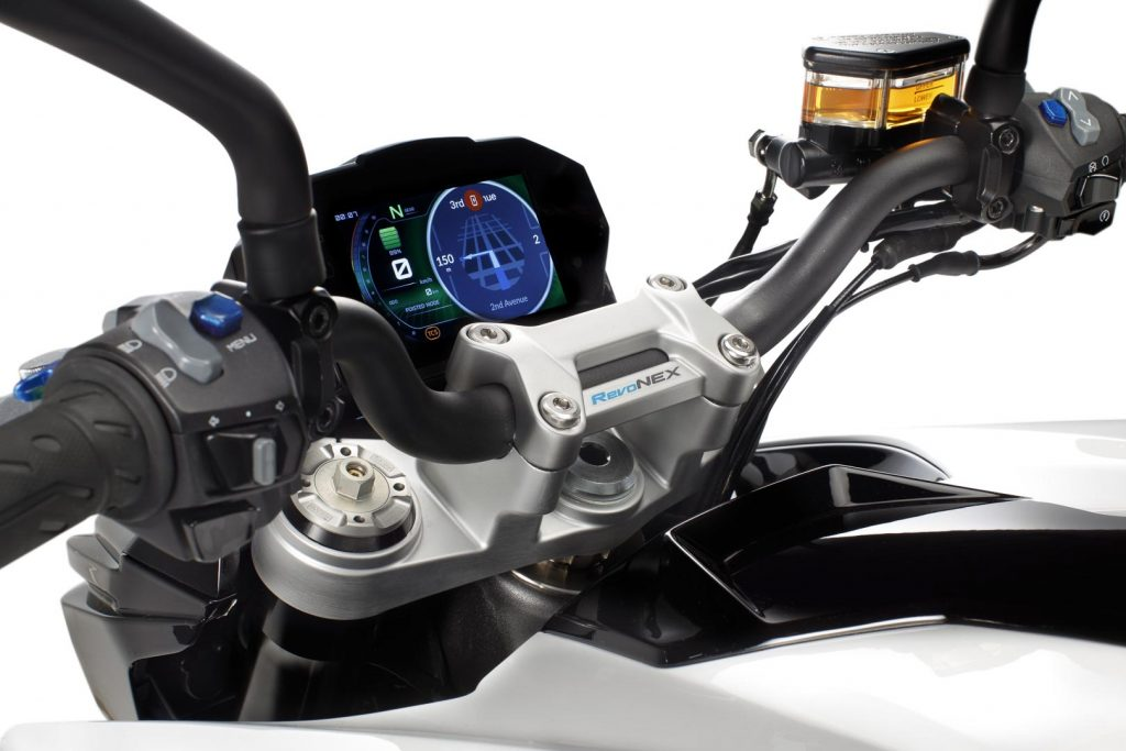 2021 Kymco Revonex first look electric sport motorcycle 19