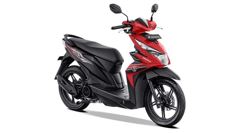 Motor Matic Terbaru dan termurah Honda Beat