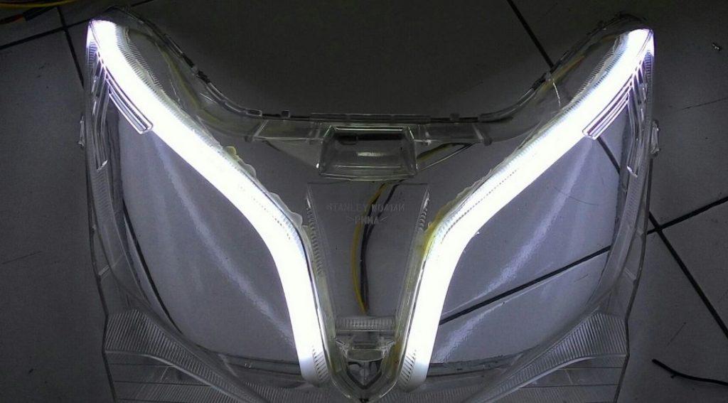 Cara Pasang Lampu Alis Motor