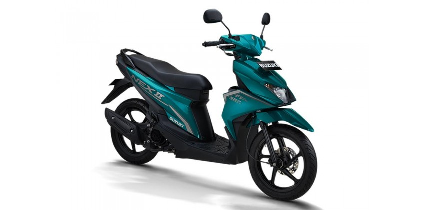 Motor Matic Terbaru Suzuki Nex II