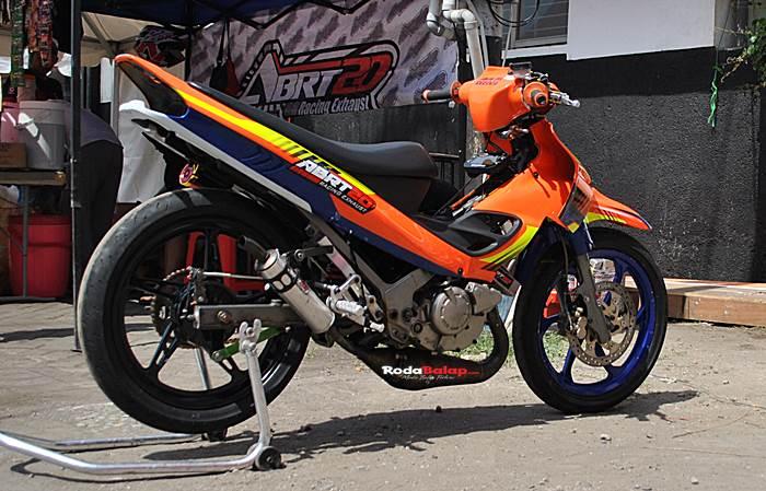 Yamaha 125ZR Balap