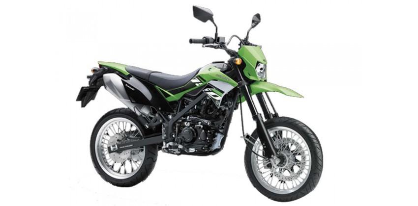 Motor Supermoto Terbaru dan Terbaik Kawasaki D-Tracker 150