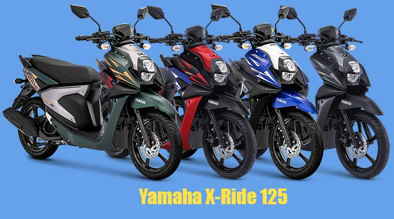 spesifikasi-yamaha-x-ride-125,-skutik-adventure-berfitur-modern