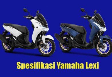 Spesifikasi Yamaha Lexi, Skutik 125cc yang Mewah dan Fitur Canggih