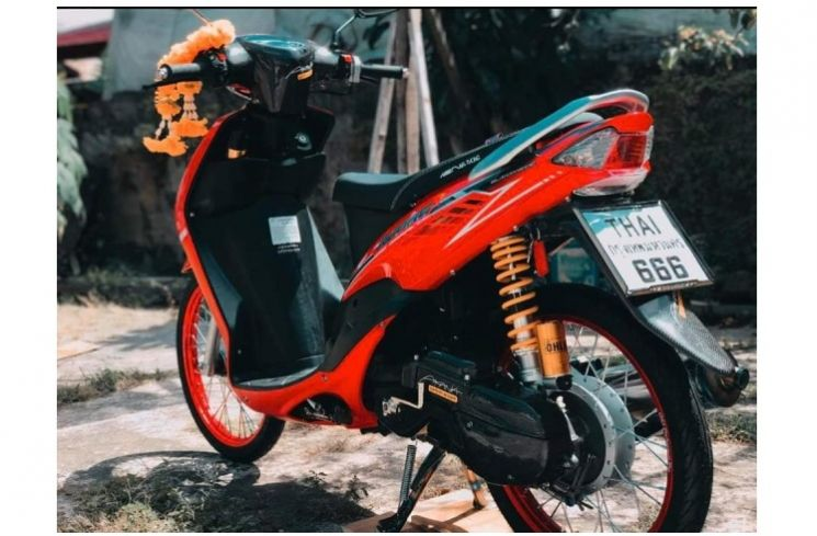 Modifikasi Mio Sporty Simpel