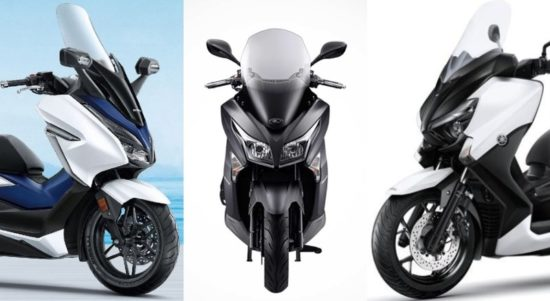 motor matic 250cc ke atas terbaik
