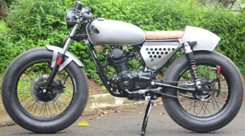 Modifikasi GL 100 Cafe Racer