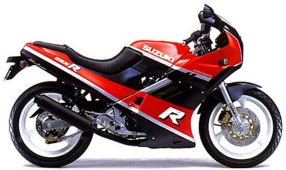Motor Andalan Ksatria Baja Hitam Suzuki GSX-R 250