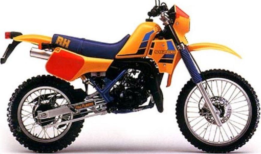 Motor Andalan Ksatria Baja Hitam Suzuki RH 250