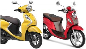 Yamaha Fino Vs Fascino 125