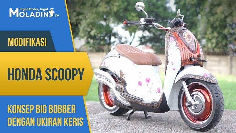 modifikasi motor scoopy