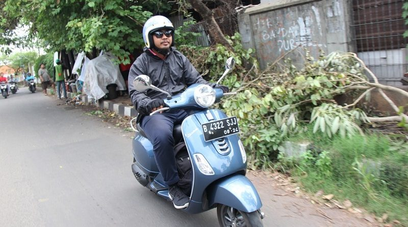 test ride vespa lx 125 i-get