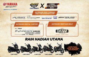 Syarat Kompetisi Modifikasi Yamaha XSR155 01